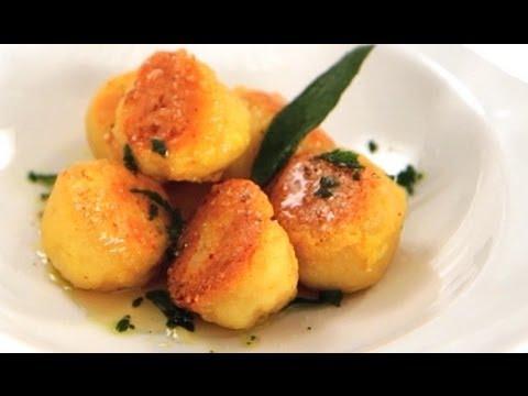 Homemade Ricotta Gnudi