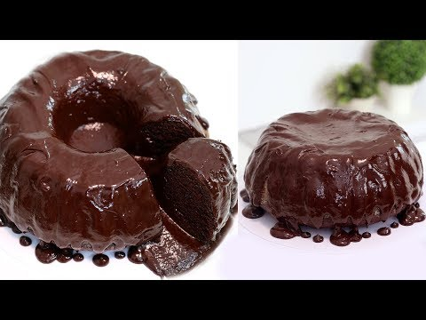 How to Make a GIANT Molten Lava Cake | Chocolate Fondant | RECIPE