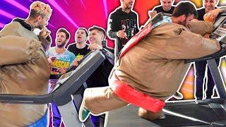 Carrera Extrema de Botargas con YouTubers