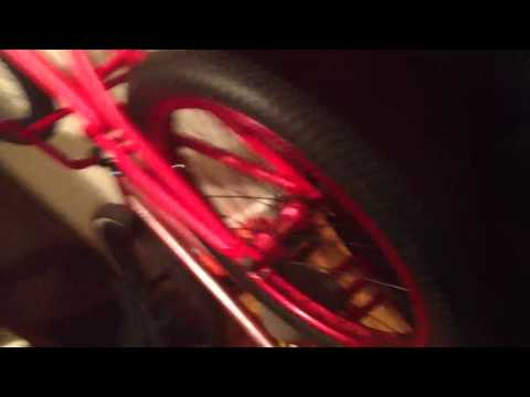how to bulid a bmx bike part 2