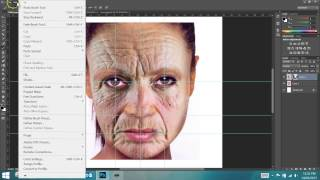 Making Young People Look Old In Photoshop