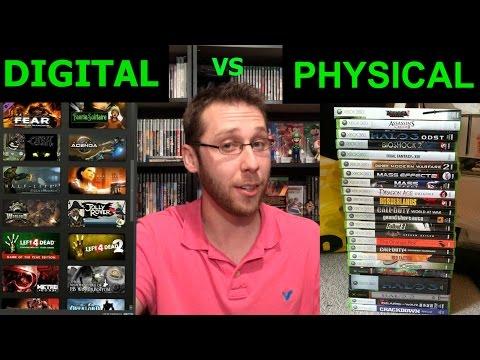 Digital Games vs. Physical Games