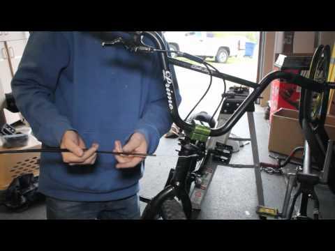 how to install a gyro brake system bmx