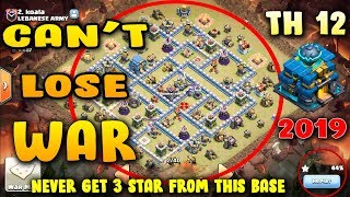 2019 new highly configure th12 war Base Videos - 9tube tv
