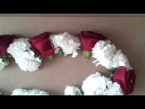 Fresh Rose garland By Ever So Special