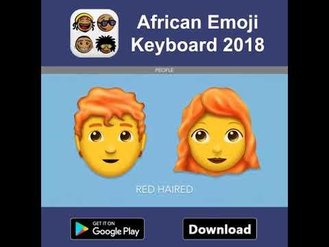 African Emoji Keyboard 2018