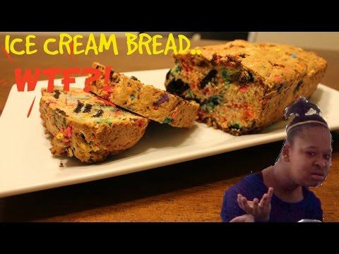 EASIEST RECIPE EVER! Ice Cream Bread