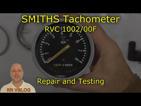 Repair and Testing of SMITHS RVC 1002/00F Tachometer