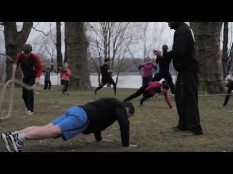 Outdoor Gym Training Impressionen