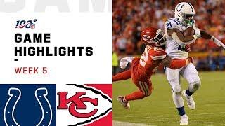 Colts vs. Chiefs Week 5 Highlights | NFL 2019