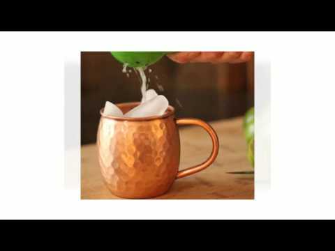 Moscow Mules In Copper Mugs 720p