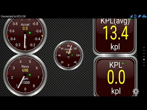 How to check Realtime mileage of your car using OBD Device