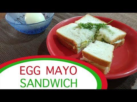 Egg Mayonnaise Sandwich Filling   Most Satisfying Sandwich