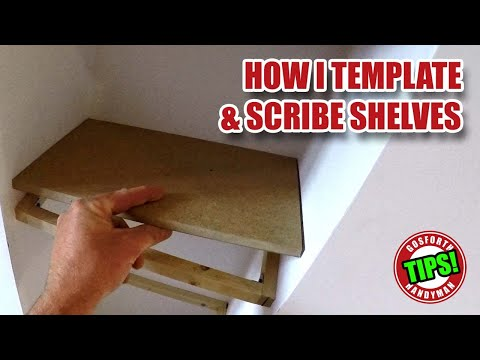 Template & Scribe Shelves Like a Pro, GoPro Sync Issues... Handyman Tips! GHTL#4 [69]