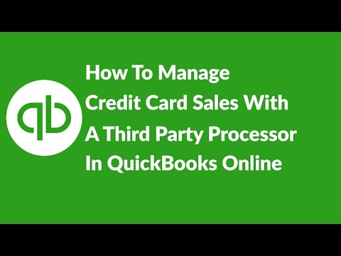 How To Manage Credit Card Sales With A 3rd Party Credit Card Processor