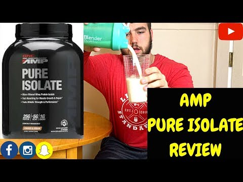 AMP PURE ISOLATE REVIEW