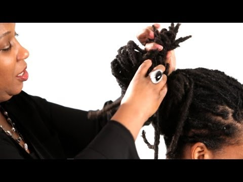 How to Do a Dreads Twisted Knot | Get Dreads