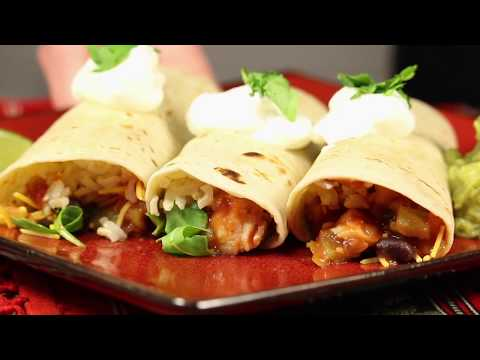 La Preferida Chicken and Black Bean Wrap