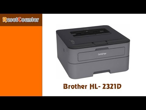 Refill and Reset Toner Brother HL2321D / 2541