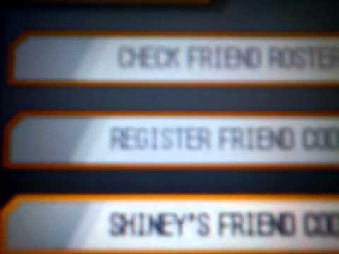 Pokemon black and white friend code