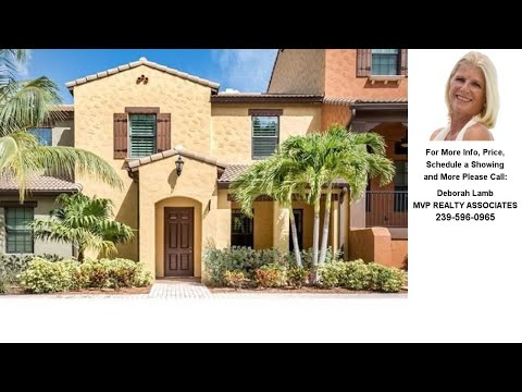 9063 Capistrano Street North #4406, Naples, FL Presented by Deborah Lamb.