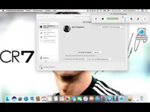 How to change password for macbook pro 2010!