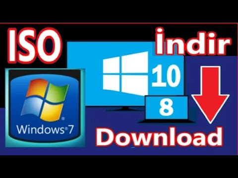 Windows 10 /8/7 indir [ISO- 32bit- 64bit] Office download. Format atma dosyaları /iso image software