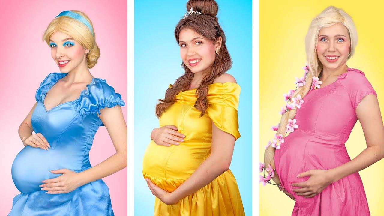 Si las Princesas de Disney Estuvieran Embarazadas