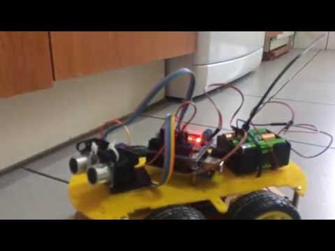 How To Build An Autonomous Robot with Arduino UNO and a cheap 4WD platform
