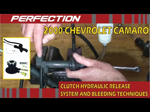 2000 Chevrolet Camaro Clutch Hydraulic Release System and Bleeding Techniques