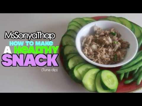 My Go To Healthy Snack! (TUNA DIP)