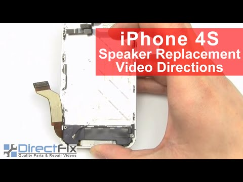 How to Fix iPhone 4S Speaker Not Working