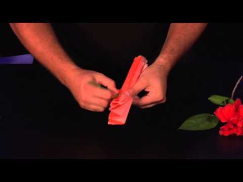 Making Paper Hibiscus Flowers