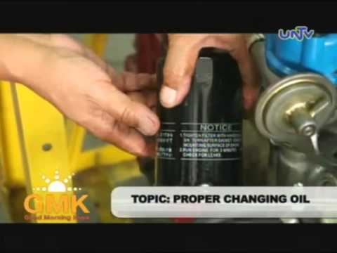 How to change engine oil properly