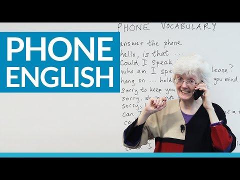 Real English: Speakingon the phone