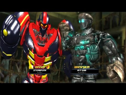 REAL STEEL-THE TROPHY FOR THE ATOM(ATOM vs STEAMPUNK)ЖИВАЯ СТАЛЬ XBOX 360/PS3