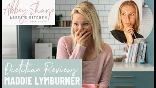 Dietitian Reviews Maddie Lymburner What I Eat in a Day
