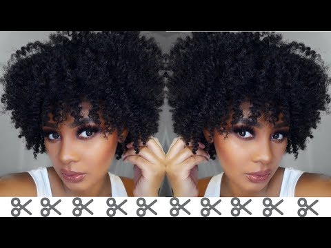 Watch Me Cut & Shape Life Back Into My Natural Hair