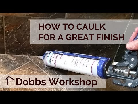 How to Caulk Tile for a Great Finish