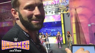 Zack Ryder gets a big surprise at San Diego Comic-Con International: WWE Unboxed with Zack Ryder