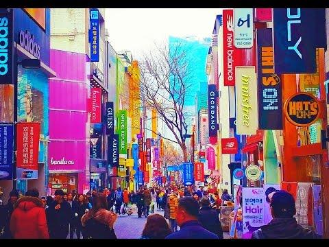 Myeongdong - Walking Through Seoul's Hyper-Shopping District