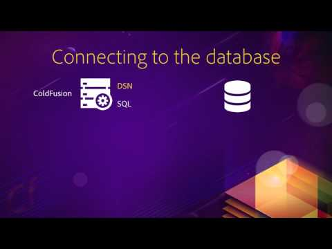 04 Publishing database content ## 03 Connecting Coldfusion to the database