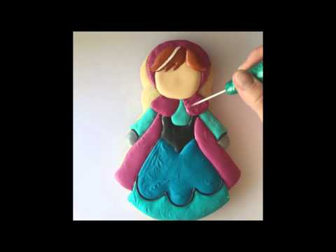 Disney's Princess Anna Cookies 2015