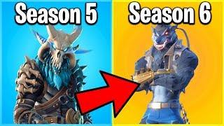 Ranking Every Season 6 Fortnite Skin From Worst To Best! (season 6 Battle Pass)