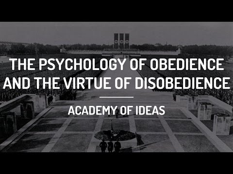 The Psychology of Obedience and The Virtue of Disobedience
