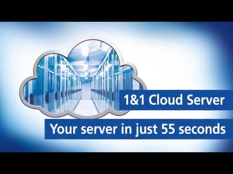 1&1 Cloud Server–Your server in just 55 seconds