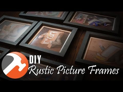 7 DIY PICTURE FRAMES   I CAN MAKE THAT