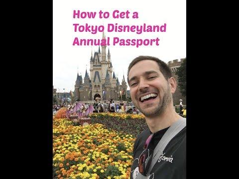 Tokyo Disneyland Resort Annual Passport Get!