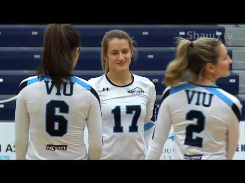 VIU Mariners vs. Camosun Chargers - PacWest Women's Volleyball - Feb. 16th, 2018