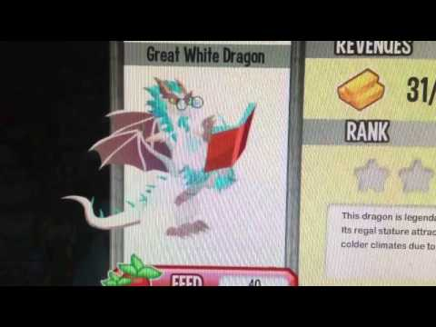 Great white dragon level up 1-10